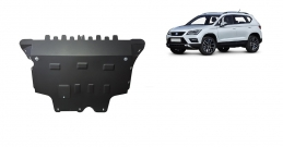 Steel sump guard for Seat Ateca