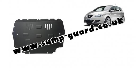 Steel sump guard for Seat Altea