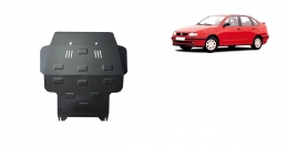 Steel sump guard for Seat Cordoba