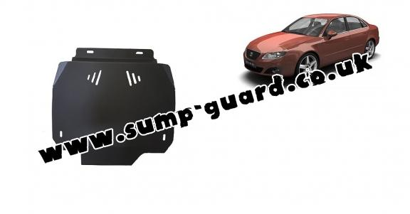 Steel automatic gearbox guard forSeat Exeo