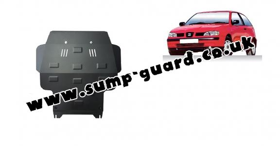 Steel sump guard for Seat Ibiza
