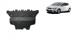 Steel sump guard for Seat Leon