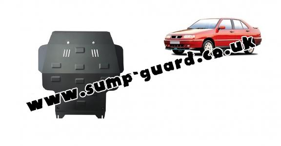 Steel sump guard for Seat Toledo