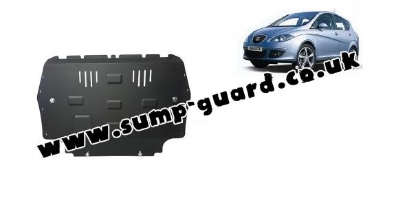 Steel sump guard for Seat Toledo 3