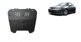 Steel sump guard for the protection of the engine and the gearbox for Saab 9-3