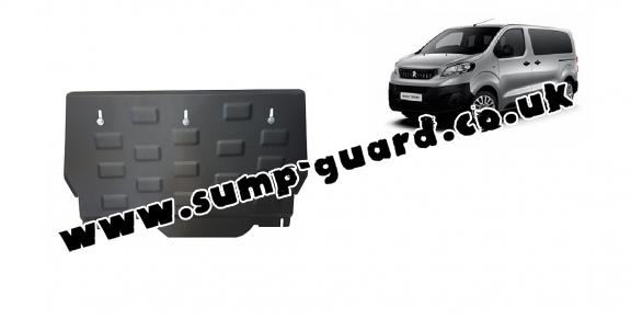Steel sump guard for Peugeot Expert Panel Van