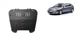 Steel sump guard for Vauxhall Signum