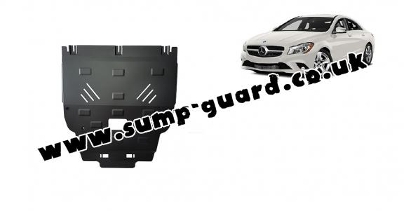 Steel sump guard for Mercedes A-Class W176