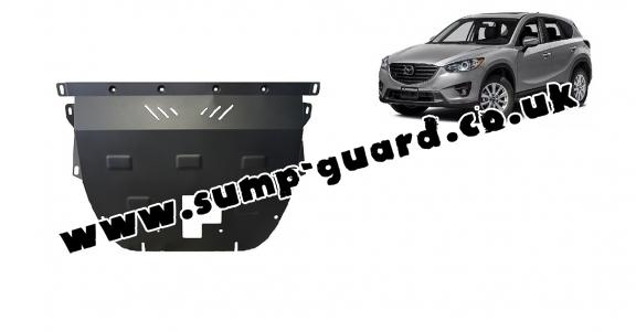 Steel sump guard for Mazda CX5