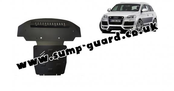 Steel sump guard for  Audi Q7 S-Line