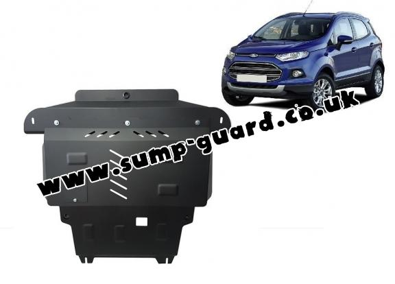 Steel sump guard for the protection of the engine and the gearbox for   Ford EcoSport