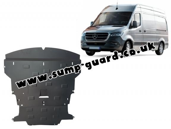 Steel sump guard for Mercedes Sprinter-FWD