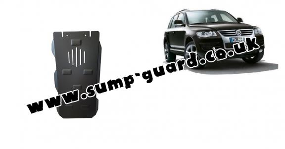 Steel automatic gearbox guard for Volkswagen Touareg 7L