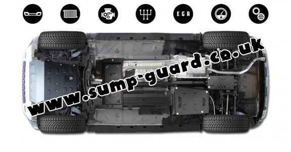 Steel sump guard for Dacia Duster 4x4 - promotional package