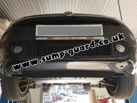 Steel sump guard for Fiat Grande Punto