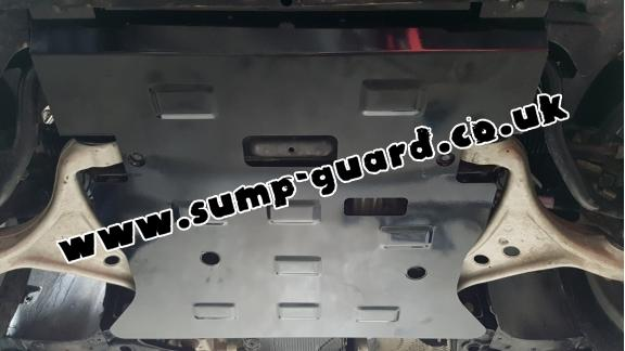 Steel sump guard for Mercedes GLE Coupe C292