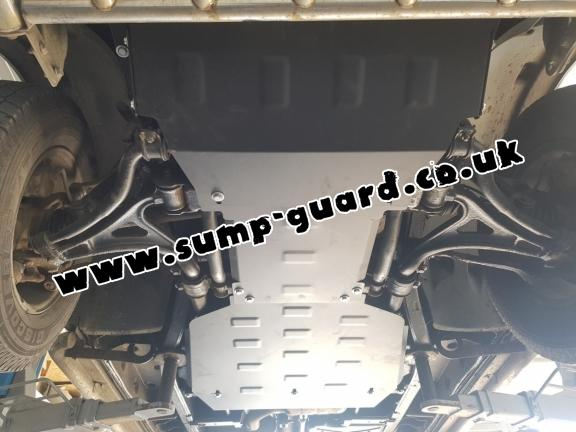 Steel gearbox guard for Mercedes ML W163