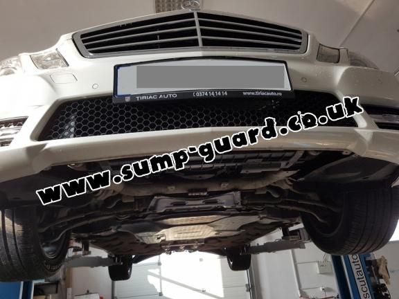 Steel sump guard for Mercedes E-Classe W212