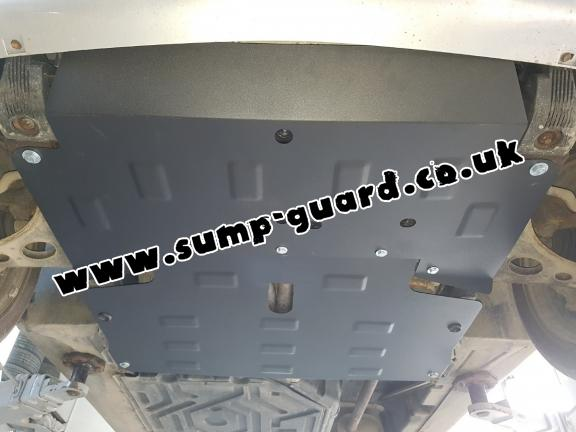 Steel sump guard for the protection of the engine and the gearbox for Mercedes Vaneo W414