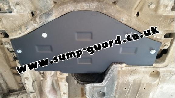 Steel sump guard for the protection of the Stop&Go system Mercedes Viano W447, 4x2, 1.6 D