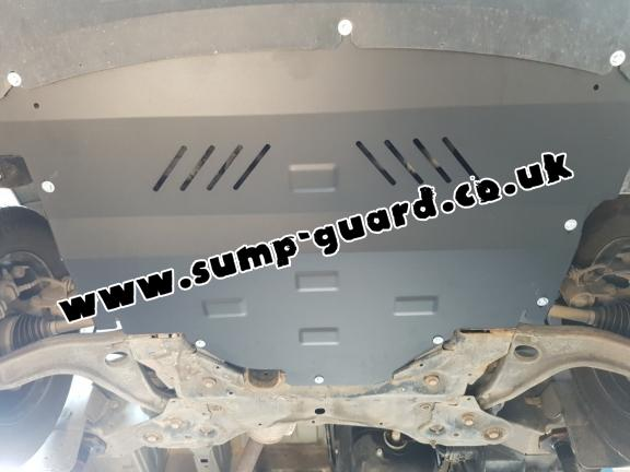 Steel sump guard for Nissan Interstar