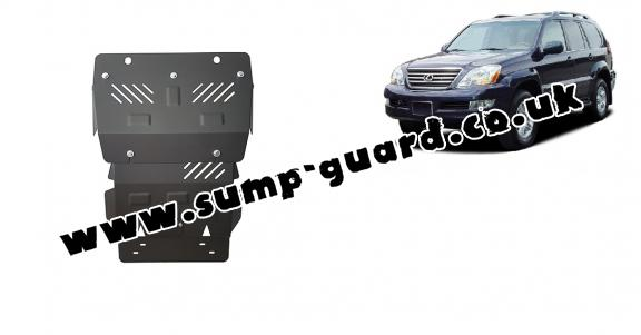 Steel sump guard for Lexus GX