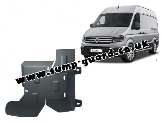 Steel AdBlue tank guard for Volkswagen Crafter