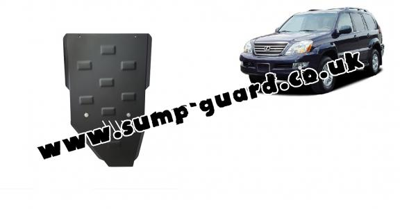 Steel gearbox guard for Lexus GX