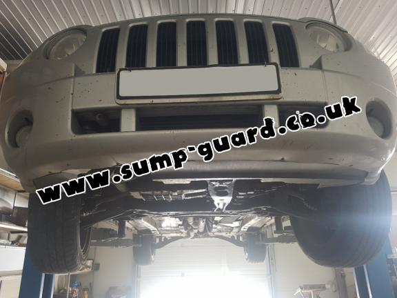 Steel sump guard for Jeep Compass