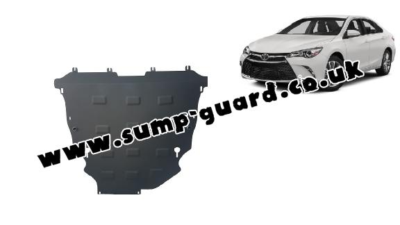 Steel sump guard for Toyota Camry
