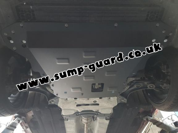 Steel sump guard for Ford Focus 4