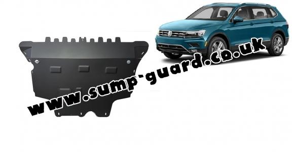 Steel sump guard for Vw Tiguan