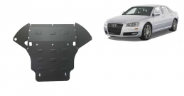 Steel sump guard for Audi A8
