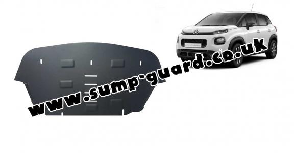 Steel sump guard for Citroen C3 Aircross