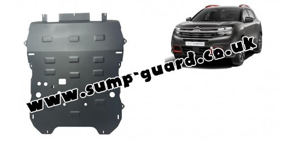 Steel sump guard for Citroen C5 Aircross