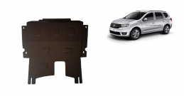 Steel sump guard for Dacia Logan MCV