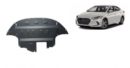 Steel sump guard for  Hyundai Elantra