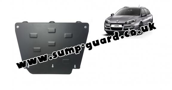 Steel sump guard for Renault Laguna 3