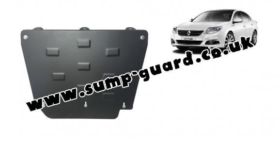 Steel sump guard for Renault Latitude