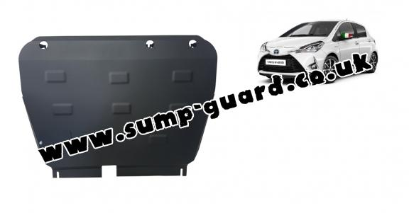 Steel sump guard for Toyota Yaris XP150