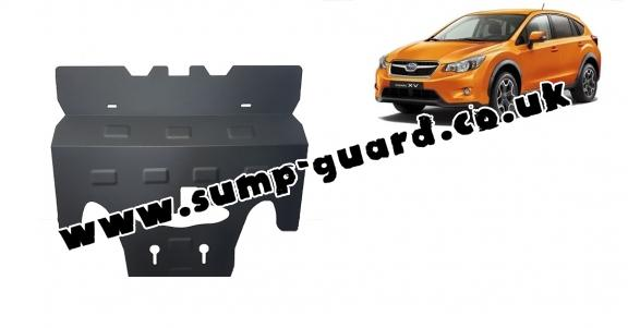 Steel sump guard for Subaru XV