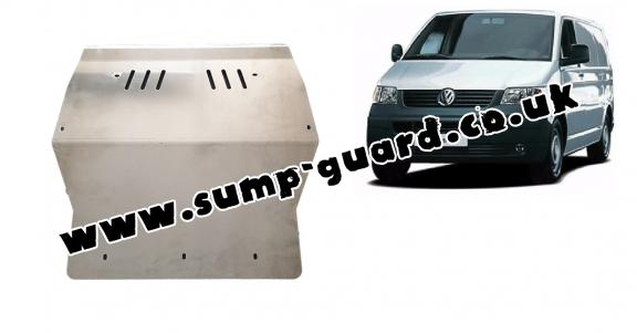 Aluminum sump guard for Volkswagen Transporter T5