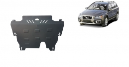 Steel sump guard for the protection of the engine and the gearbox for Volvo XC70