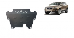Steel sump guard for the protection of the engine and the gearbox for Volvo XC60