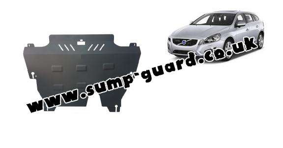 Steel sump guard for Volvo  V60