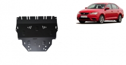 Steel sump guard for Seat Toledo 4
