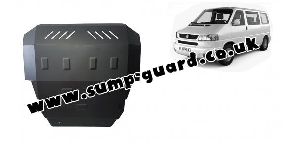 Steel sump guard for VW Transporter T4 Caravelle