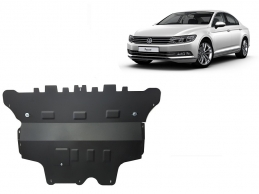 Steel sump guard for VW Passat B8 - automatic gearbox