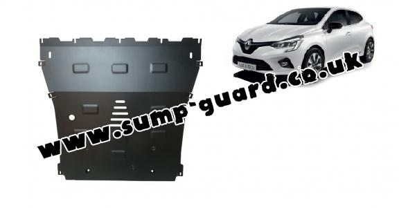 Steel sump guard for Renault Clio 5