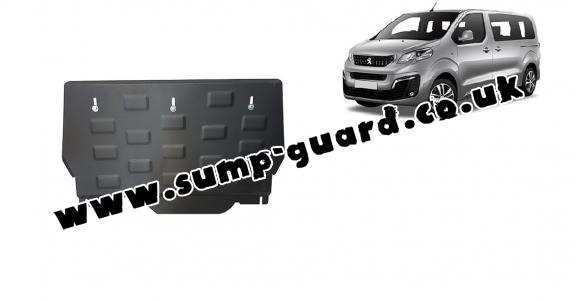 Steel sump guard for Peugeot Traveller MPV